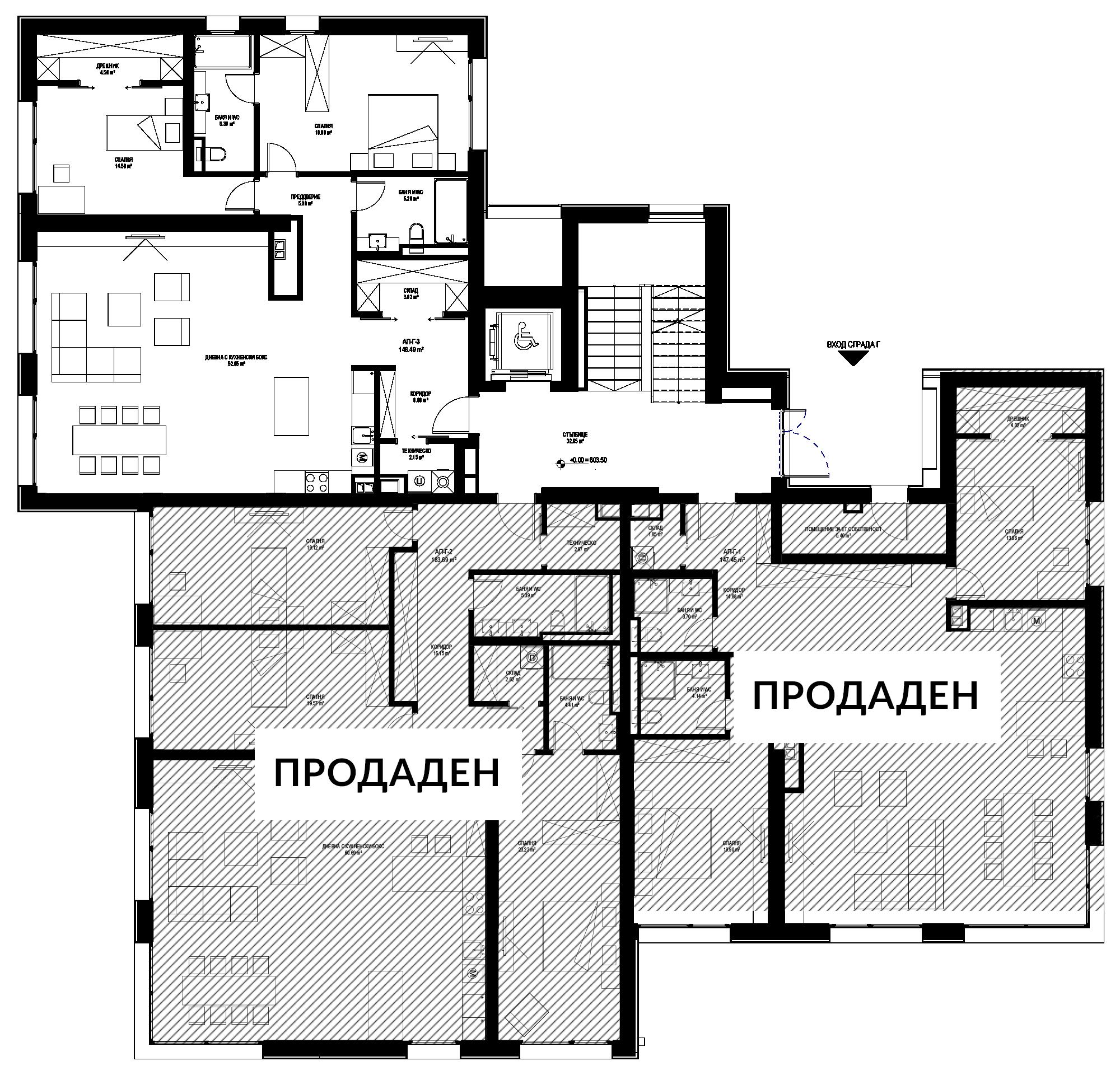 A - Етаж 1 1