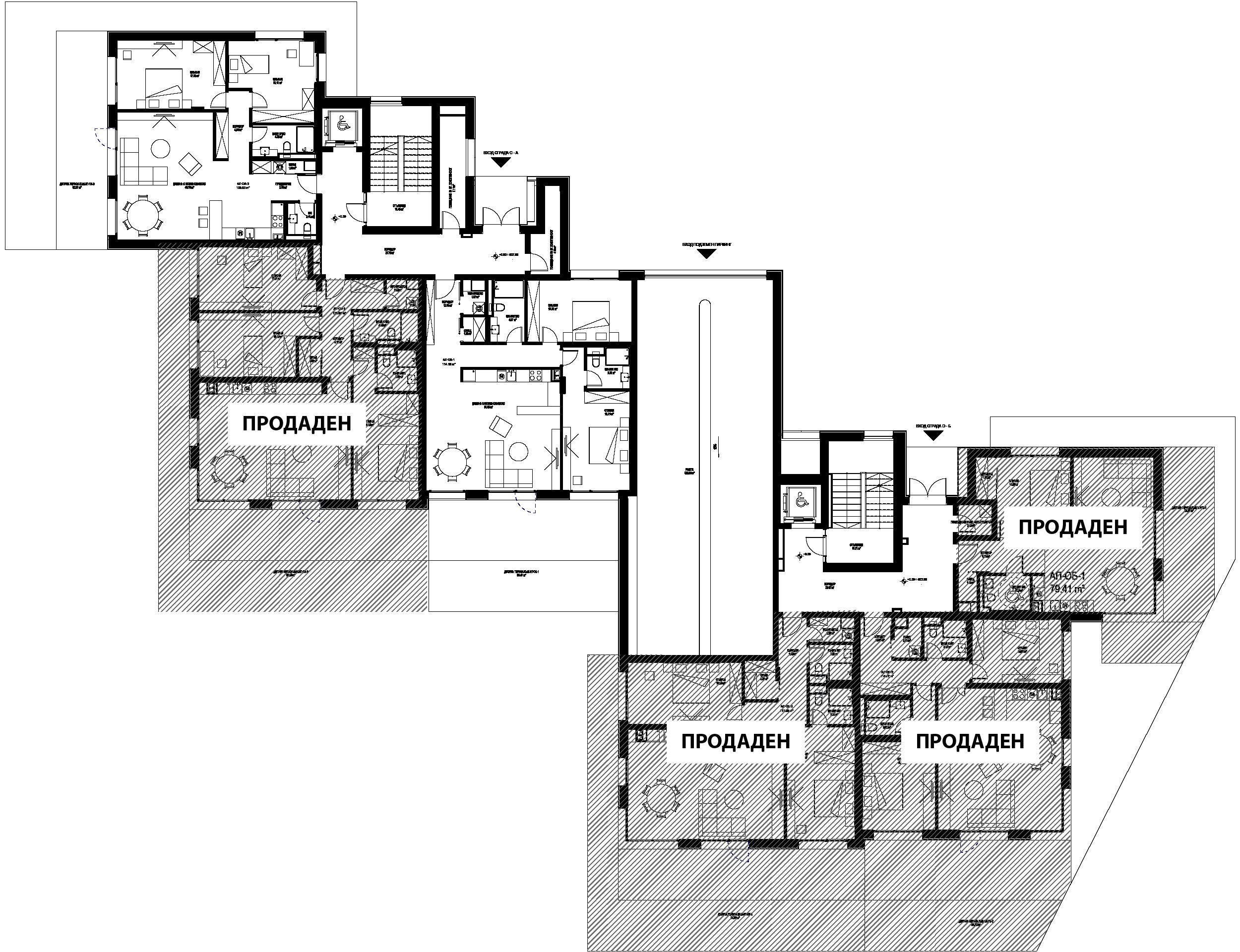 O - Етаж 1 1