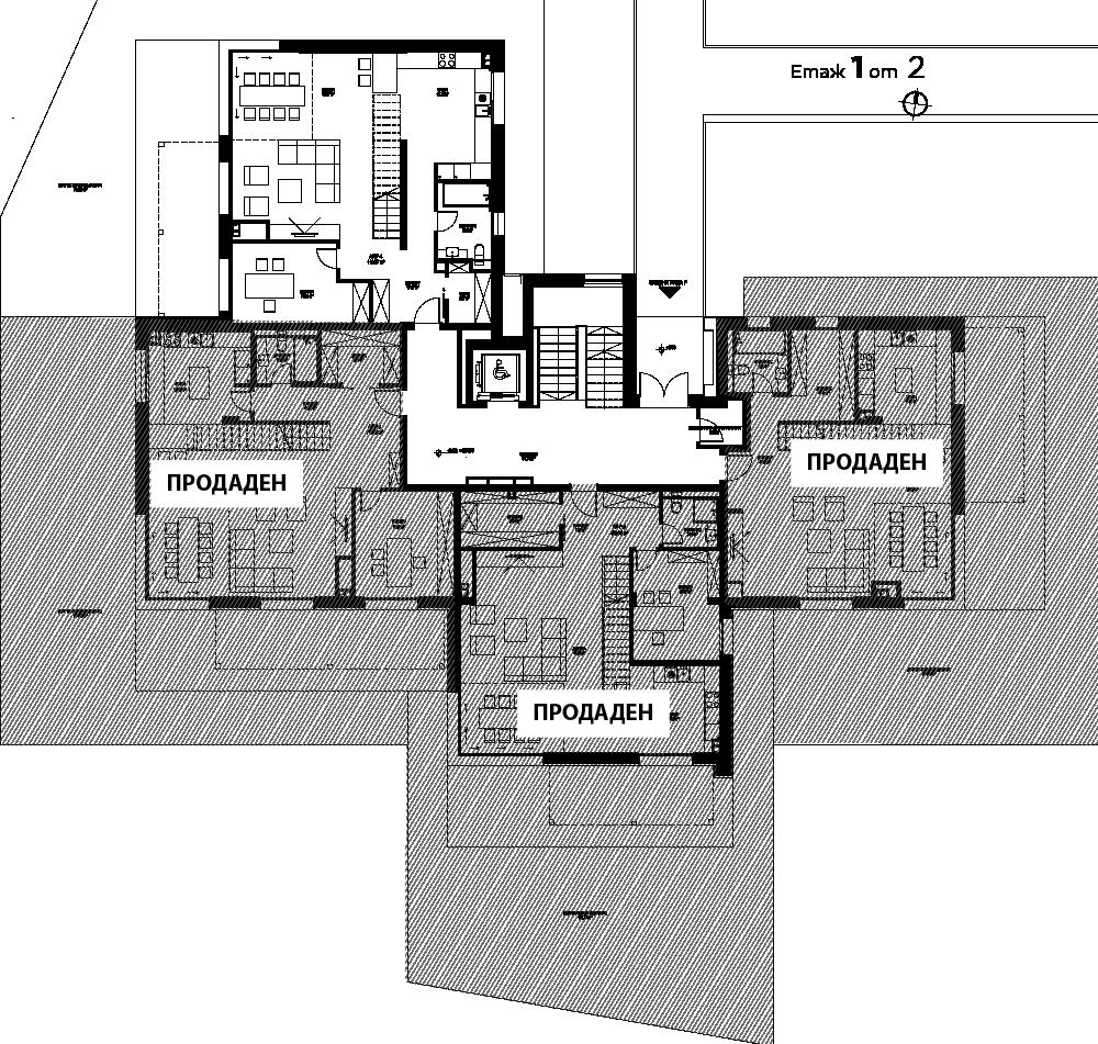 R - Етаж 1-2 1